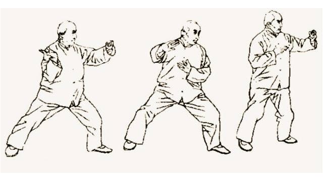 张召臻陈式太极拳实用拳法一路陈中华老师的学生教练初炎强
